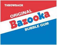 THROWBACK ORIGINAL BAZOOKA  BUBBLE GUM