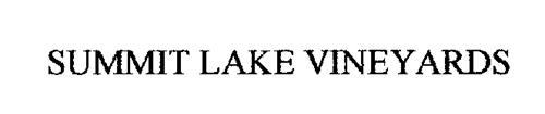 SUMMIT LAKE VINEYARDS