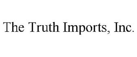 THE TRUTH IMPORTS, INC.