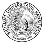SICILLUM UNIVERSITATIS KANSIENSIS ESTABLISHED 1865 VIDEBO VISIONEM HANC MAGNAM QUARE NON COMBURATUR RUBUS