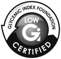 LOW GI GLYCEMIC INDEX FOUNDATION CERTIFIED