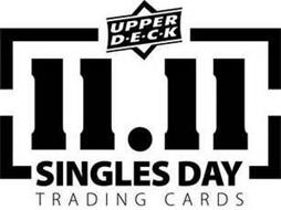 UPPER D·E·C·K 11.11 SINGLES DAY TRADING CARDS