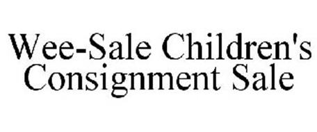 WEE-SALE CHILDREN'S CONSIGNMENT SALE