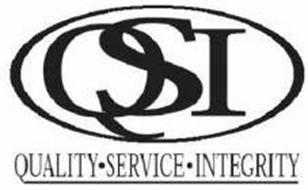 QSI QUALITY SERVICE INTEGRITY