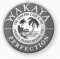 WAKAYA PERFECTION THE WAKAYA CLUB & SPA PRIVATE ISLAND RESORT, FIJI 179°1'E 17°37'S