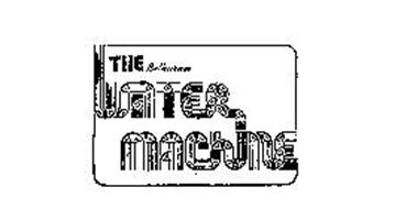 THE BETHURUM WATER MACHINE