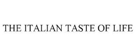 THE ITALIAN TASTE OF LIFE