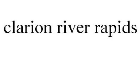 CLARION RIVER RAPIDS
