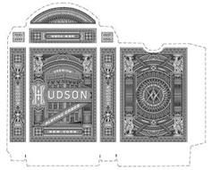 HUDSON TXI NEW YORK USA PREMIUM PLAYING CARDS CERCA TROVA
