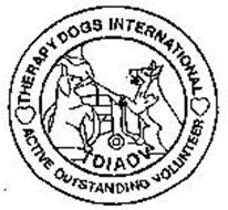 THERAPY DOGS INTERNATIONAL TDIAOV ACTIVE OUTSTANDING VOLUNTEER