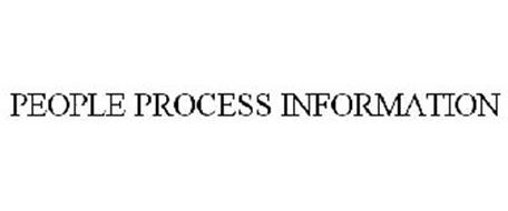 PEOPLE PROCESS INFORMATION