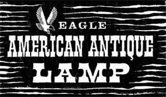 EAGLE AMERICAN ANTIQUE LAMP
