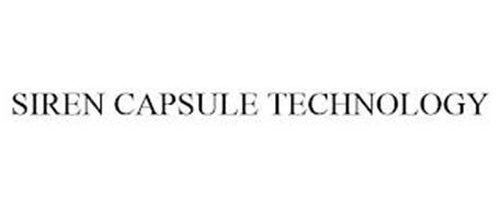 SIREN CAPSULE TECHNOLOGY