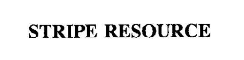 STRIPE RESOURCE