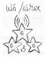 WIFI/WI MAX G G G 3