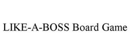 LIKE-A-BOSS BOARD GAME