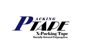 PACKING TAPE X-PACKING TAPE BIAXIALLY ORIENTED POLYPROPYLENE