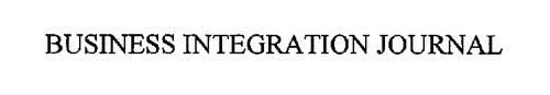 BUSINESS INTEGRATION JOURNAL