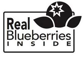 REAL BLUEBERRIES INSIDE