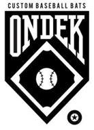 ONDEK CUSTOM BASEBALL BATS