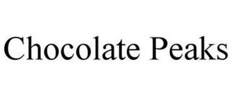 CHOCOLATE PEAKS