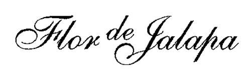 FLOR DE JALAPA
