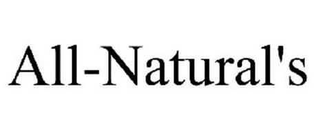 ALL-NATURAL'S