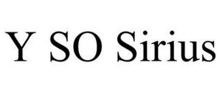 Y SO SIRIUS