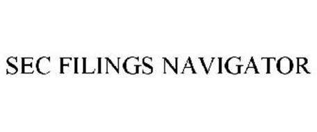 SEC FILINGS NAVIGATOR