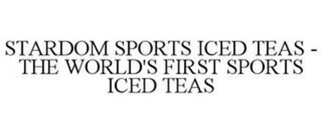 STARDOM SPORTS ICED TEAS - THE WORLD'S FIRST SPORTS ICED TEAS
