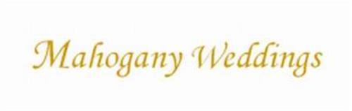 MAHOGANY WEDDINGS