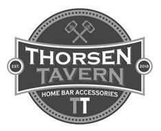 THORSEN TAVERN EST. 2018 HOME BAR ACCESSORIES TT