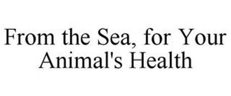 FROM THE SEA, FOR YOUR ANIMAL'S HEALTH