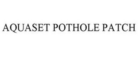 AQUASET POTHOLE PATCH