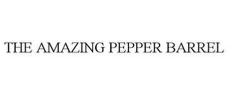 THE AMAZING PEPPER BARREL