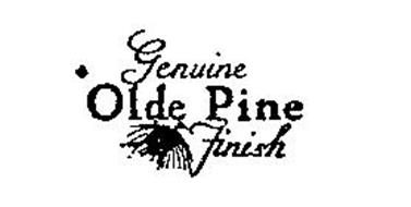 GENUINE OLDE PINE FINISH