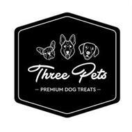 THREE PETS - PREMIUM DOG TREATS -