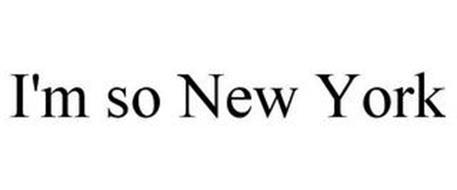 I'M SO NEW YORK