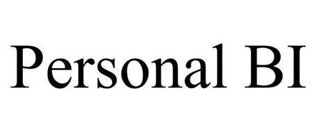 PERSONAL BUSINESS INTELLIGENCE