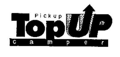 PICKUP TOPUP CAMPER