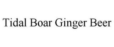TIDAL BOAR GINGER BEER
