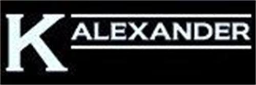 K ALEXANDER