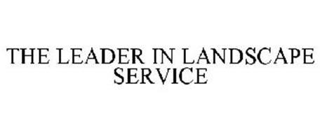 THE LEADER IN LANDSCAPE SERVICE