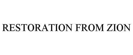 RESTORATION FROM ZION