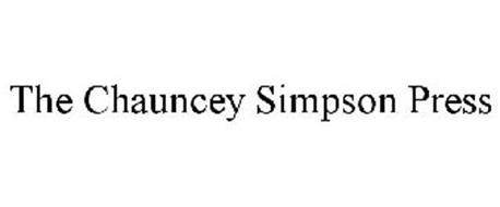 THE CHAUNCEY SIMPSON PRESS