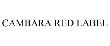 CAMBARA RED LABEL