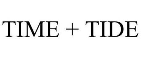 TIME + TIDE
