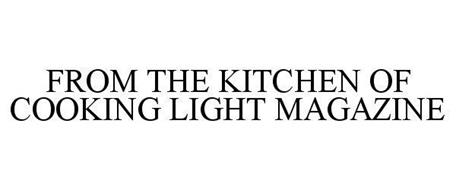 FROM THE KITCHEN OF COOKING LIGHT MAGAZINE