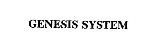 GENESIS SYSTEM