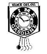 TIME OIL CO. TIME GASOLINE I II III IIIIV VI VII VIII IX X XI XII